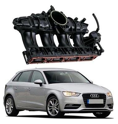 Coletor De Admissão Audi A3 1.8 2.0 Q3 Tt 06j133201bh