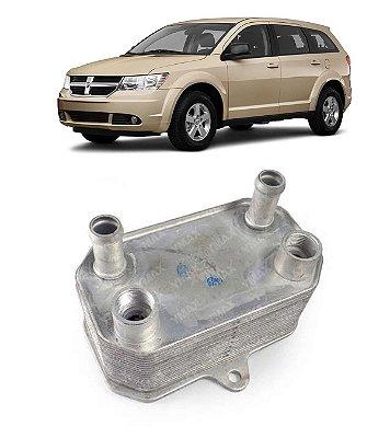 Radiador Resfriador Oleo Motor Journey 2.7 V6 2008 A 2011