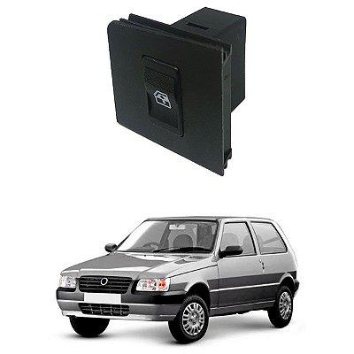 Botão Vidro Elétrico Fiat Uno Mille Fiorino 02/.. L. Direito