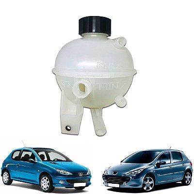 Reservatorio Agua Do Radiador Peugeot 206 307 2001 A 2012 / Citroen C3 C4 2002 A 2012