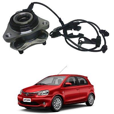 Cubo Roda Dianteira Toyota Etios 1.3 1.5 13/.. Lado Esquerdo