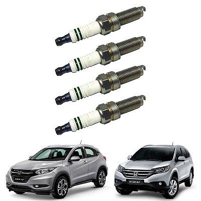 Jogo Vela Ignição Honda Crv 2.0 Hrv 1.8 Civic 1.8 2.0 2012/.