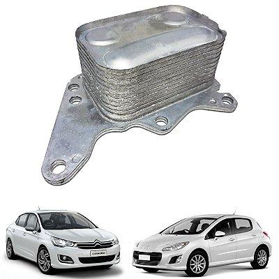 Resfriador Radiador Óleo Citroen C4 Ds3 Ds4 Ds5 1.6 Turbo // Peugeot 208 2008 308 408 1.6 16v