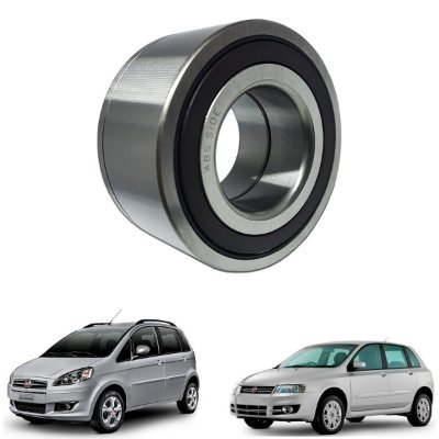 Rolamento Roda Dianteira Fiat Stilo 1.8 Idea 1.4 1.8 C/abs