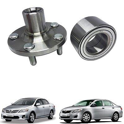 Cubo Roda Dianteira + Rolamento Toyota Corolla 2009 A 2017
