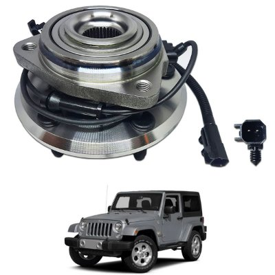 Cubo Roda Dianteira Jeep Wrangler 3.6 3.8 4x4 07/12 C/abs