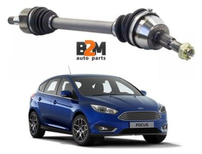 Semieixo Ford Focus 1.6 14/.. Manual Lado Esquerdo 27x23
