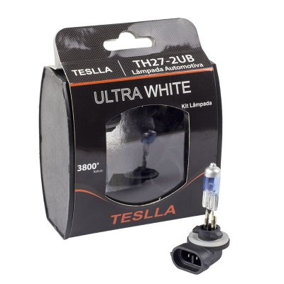 Kit Par Lampada Super Branca H27-2 50 Whats 12volts