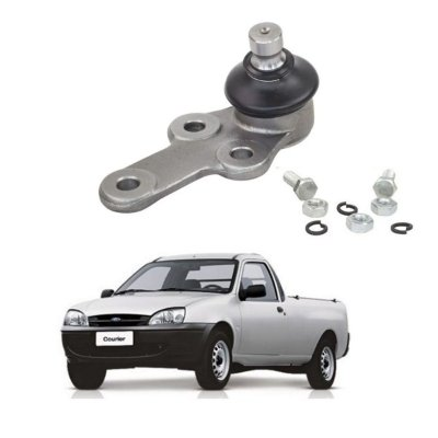 Pivo Inferior Suspensao Ford Courier Fiesta Ka 17,5mm