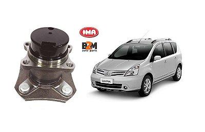 Cubo Roda Traseira Nissan Livina Tiida 1.6 1.8 16v Com Abs