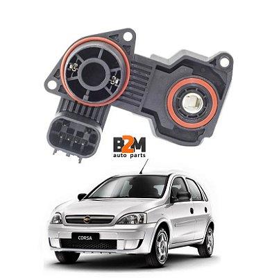 Sensor Borboleta Gm Corsa Montana Meriva 1.4 1.8 Flex 06/10
