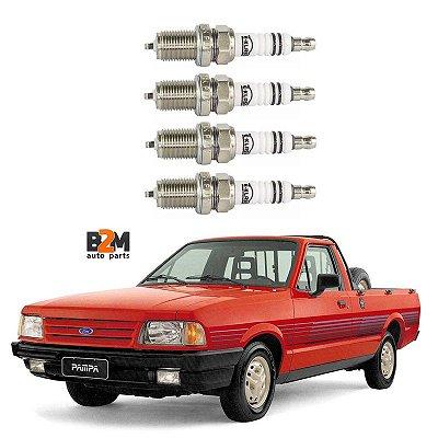 Jogo Vela Ignicao Ford Pampa Verona Del Rey 1.6 Cht Ate 1991 ///Fiat Tipo 1.6 Uno 1.4 Turbo // Vw Gol Parati Saveiro Voyage 1.6