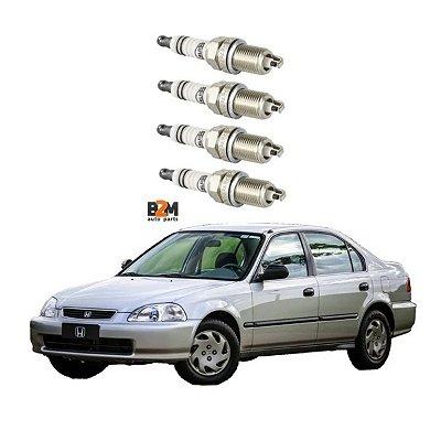 Jogo Vela Ignicao Honda Civic 1.5 91/97 Civic 1.6 94/95
