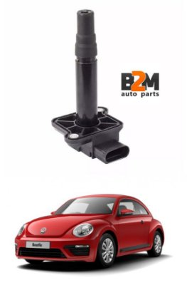Bobina Ignição Audi A3 A6 Vw Golf New Beetle 06b905105