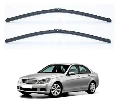 Palheta Slim Limpador Parabrisa Mercedes Benz C180 08/11