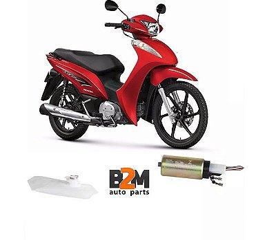 Bomba Combustivel Honda Biz 125 12/.. Flex Alcool/gasolina