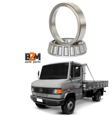 Rolamento Roda Dianteira Externa Mercedes Benz 312 912 32211