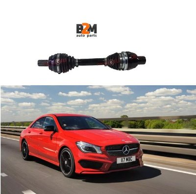 Semieixo Mercedes Benz Cla180 Cla200 Cla250 14/17 L Esquerdo