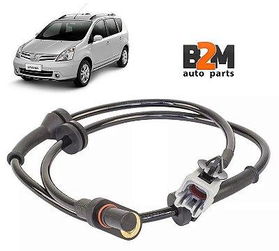 Sensor Abs Nissan Livina 1.6 1.8 10/.. Traseiro Ld Direito