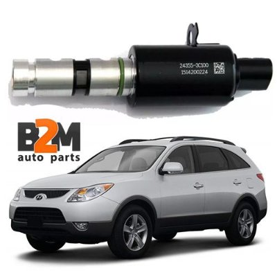 Válvula Solenoide Cabeçote Hyundai Vera Cruz Azera Santa Fé Genesis Sonata /  Kia Sorento Opirus