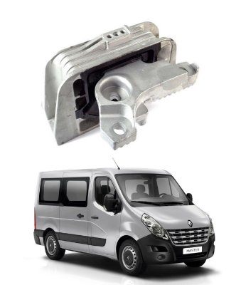 Coxim Motor Lado Direito Renault Master 2.3 16v 2013 A 2016