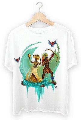 Camiseta Oxum e Oxossi