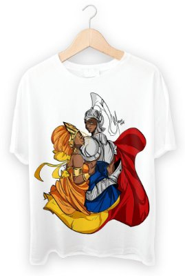 Camiseta Oxum e Ogum