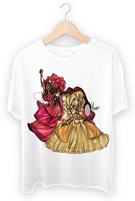 Camiseta Iansã e Oxum