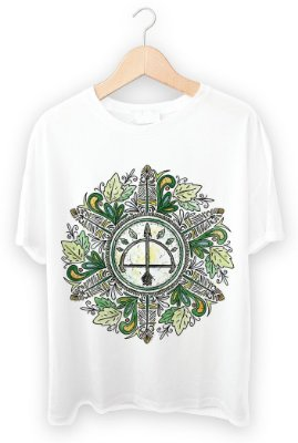 Camiseta Mandala de Oxossi