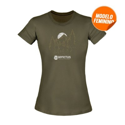 Camiseta Concept Troop Feminina - INVICTUS