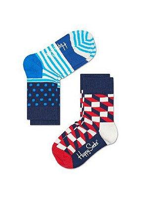 Meia Infantil Happy Socks Kfio