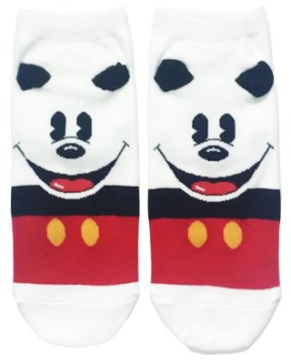 Meia Estampada Supy Mickey