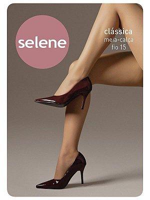 Meia Calça Fio 15 Clássica Selene Natural - M