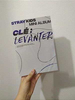 Straykids - Clé: Levanter ( Clé Ver.) AUTOGRAFADA pelo Hyunjin