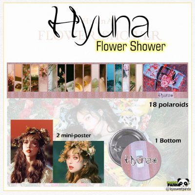 Kit Hyuna - Flower Shower