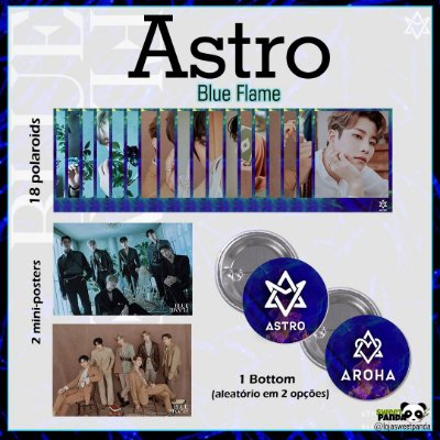 Kit Astro - Blue Flame