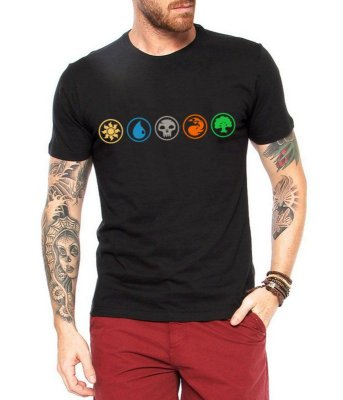 Camiseta Masculina - Camiseta de Batalha Encantamento Magic