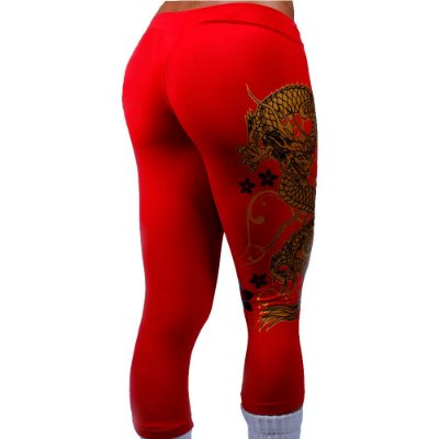 Calça Legging Corsario Legendary Dragon