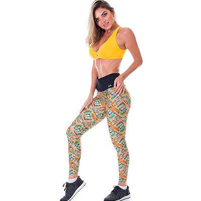 Calça Legging Neon Vitral Est