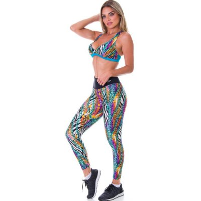 Calça Legging Neon Luxury Est