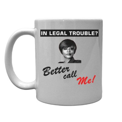 Caneca de porcelana Better Call Me (Annalise Keating)