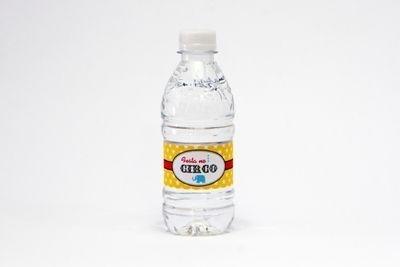Rótulo de água CIRCO - 10 un