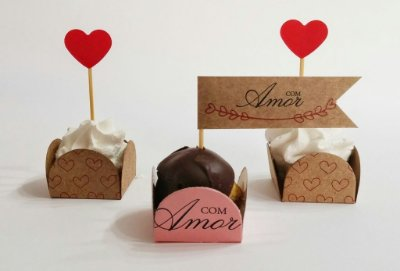 Toppers AMOR - 10un