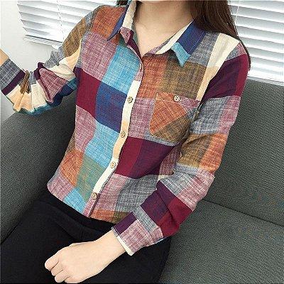 Camisa Casual Plaid