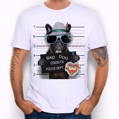 TShirt Estampa Bad Dog