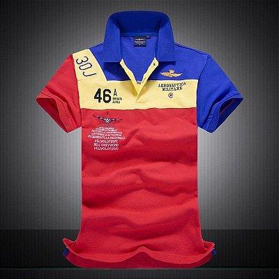 Camisa Polo Aeronautica