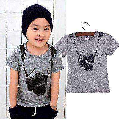 Camisa Infantil Fotografo