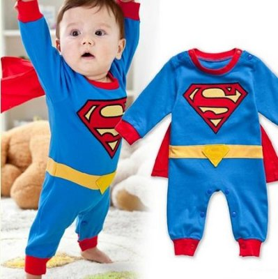 Fantasia Infantil Superman