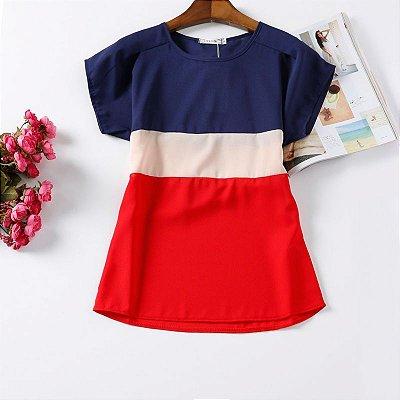 Blusa Casual Vintage