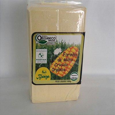 Farinha de Milho Crioulo Orgânica (1 Kg)